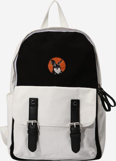 ABOUT YOU x Swalina&Linus Σακίδιο πλάτης 'Ron' σε μαύρο / λευκό, Άποψη προϊόντος