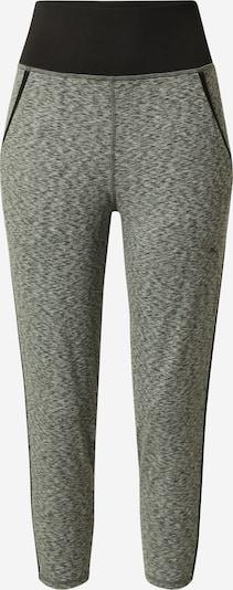 Pantaloni sport PUMA pe gri amestecat / negru, Vizualizare produs