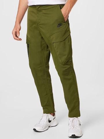 Nike Sportswear Püksid, värv roheline