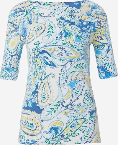 Lauren Ralph Lauren Shirt 'JUDY-ELBOW' in blau / hellblau / gelb / weiß, Produktansicht