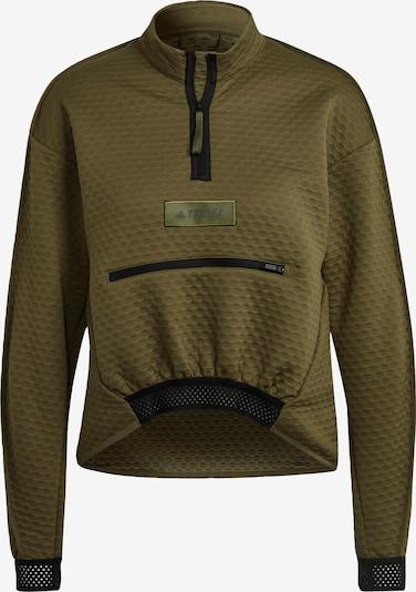 adidas Terrex Sportsweatshirt in grün, Produktansicht