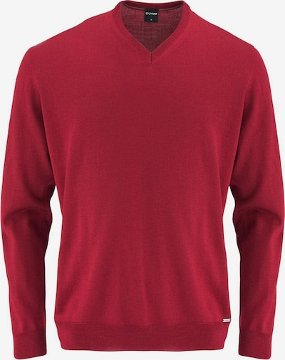 OLYMP Pullover in rot, Produktansicht