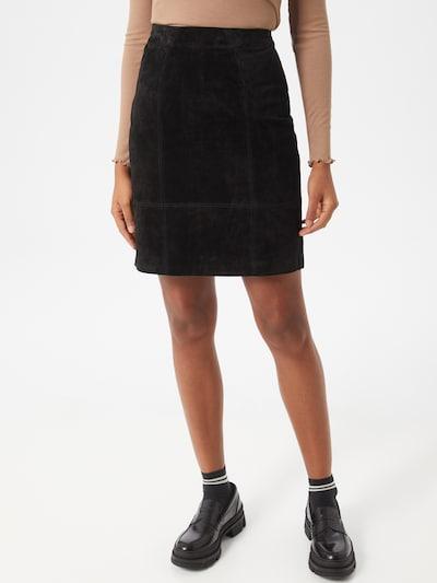 VILA Spódnica w kolorze czarnym: Widok z przodu
