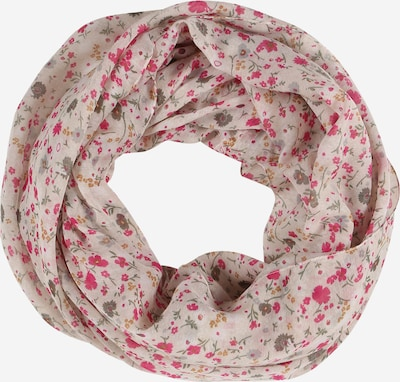 ESPRIT Loop scarf 'PrinIn' in cream / pitaya, Item view