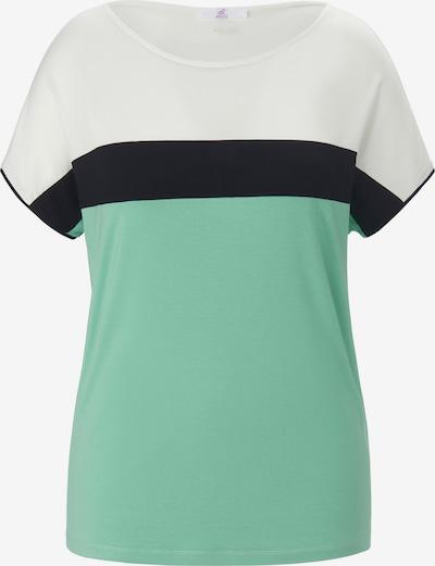 Emilia Lay Shirt in grün / schwarz / weiß, Produktansicht