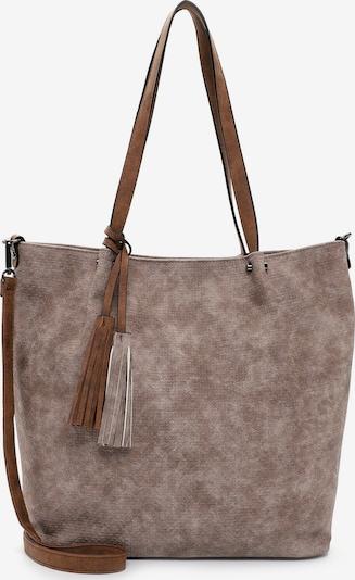 Emily & Noah Shopper 'Bag in Bag Surprise ' in beige / cognac / taupe, Produktansicht