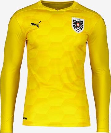 PUMA Jersey 'Österreich' in Yellow