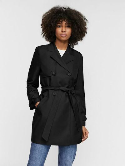 VERO MODA Between-seasons coat 'Celeste' in Black, View model