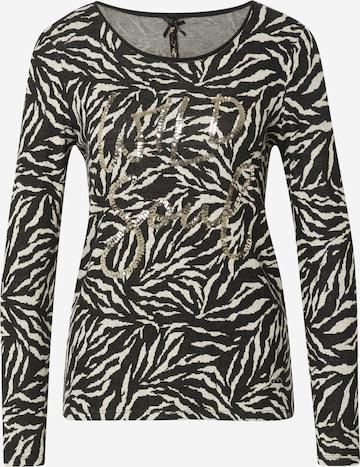 Key Largo Shirt 'WILD SOUL' in Black