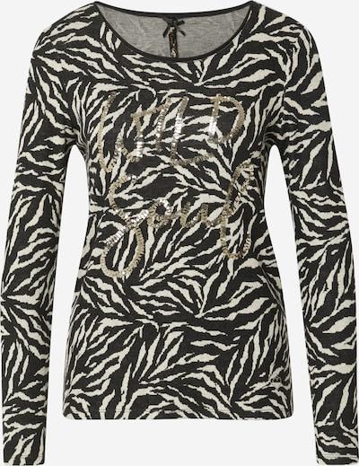 Key Largo Shirt 'WILD SOUL' en beige / schwarz, Vue avec produit