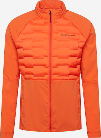 PEAK PERFORMANCE Jacke 'Argon' in neonorange, Produktansicht