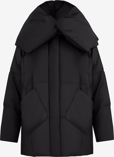 Finn Flare Daunenjacke in schwarz, Produktansicht