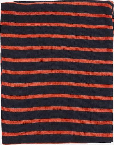 s.Oliver Schal in marine / orange, Produktansicht