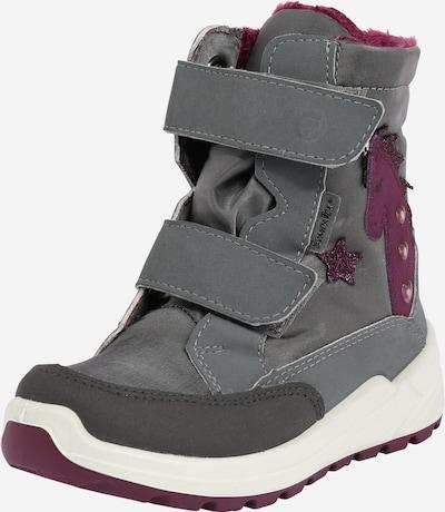RICOSTA Čizme za snijeg 'Annika' u svijetlosiva / roza: Prednji pogled