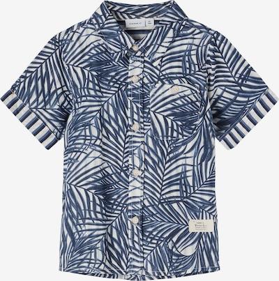 NAME IT Hemd 'Ferie' in marine / weiß, Produktansicht