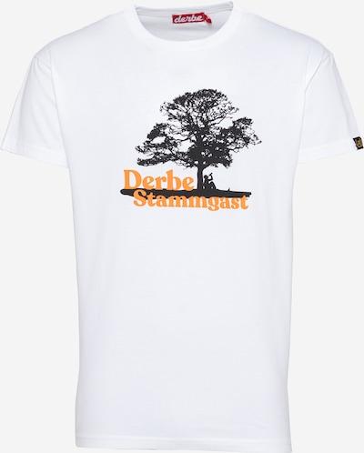 Maglietta Derbe di colore arancione / nero / bianco, Visualizzazione prodotti