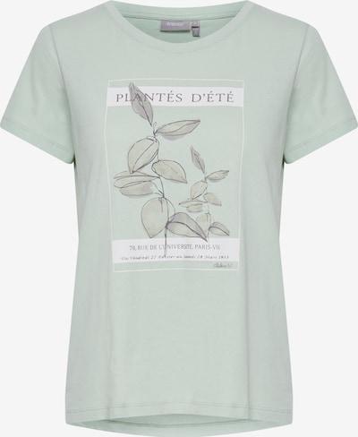 Fransa T-Shirt 'FRAMPLANT' in grün / hellgrün, Produktansicht