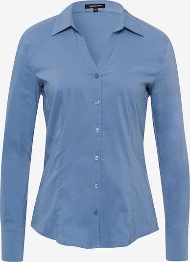 MORE & MORE Bluse in blau, Produktansicht