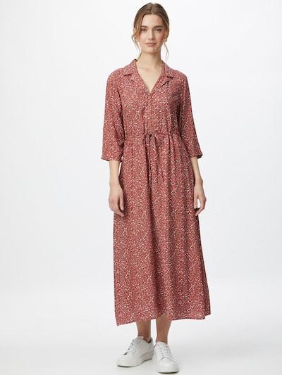 JACQUELINE de YONG Košilové šaty 'Staar Life' - mátová / pastelově oranžová / pastelově červená / černá / bílá, Model/ka
