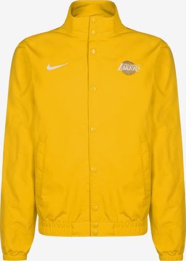 NIKE Jacke 'NBA Los Angeles Lakers' in gelb, Produktansicht