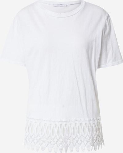 Tricou Hailys pe alb, Vizualizare produs