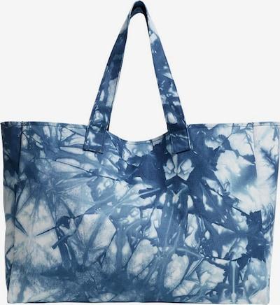 VIOLETA by Mango Shopper 'Tiedye-I' in blau / rauchblau / weiß, Produktansicht