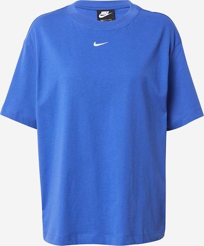 Tricou Nike Sportswear pe albastru / alb, Vizualizare produs