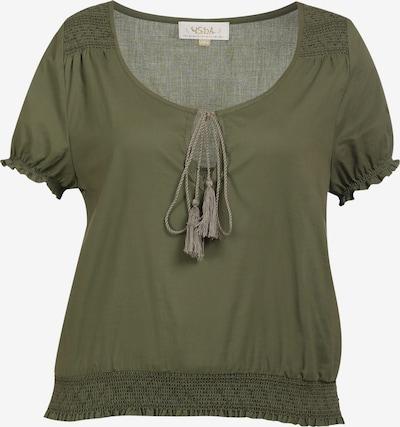 usha FESTIVAL Shirt in de kleur Olijfgroen, Productweergave