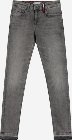 TOMMY HILFIGER Jean 'NORA' en bleu marine / gris denim / rouge / blanc, Vue avec produit