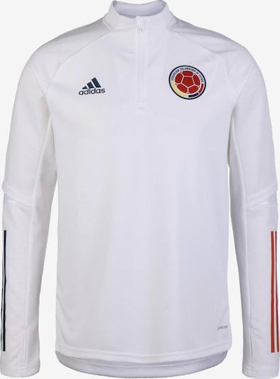 ADIDAS PERFORMANCE Trainingssweatjacke 'Kolumbien' in rot / schwarz / weiß, Produktansicht