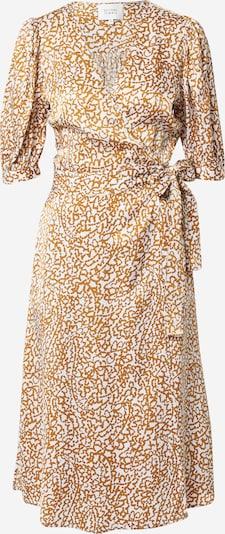 SECOND FEMALE Kleid 'Granada' in braun / weiß, Produktansicht