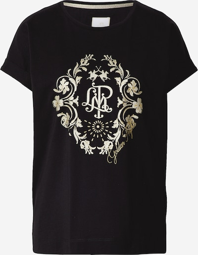 La Martina T-Shirt in gold / schwarz / silber, Produktansicht