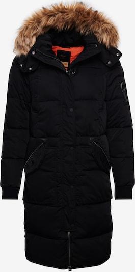 Superdry Manteau d'hiver en noir, Vue avec produit