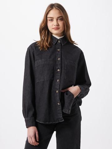 Urban Classics Блуза в черно