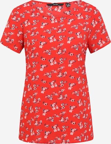 Vero Moda Tall Paita 'SAGA' värissä punainen