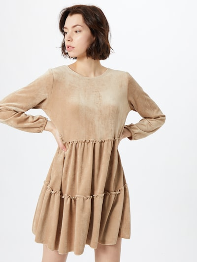 Sublevel Kleid in beige, Modelansicht