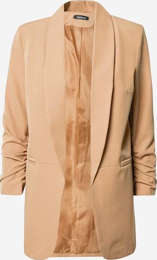 Boohoo Blazer i beige, Produktvisning