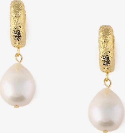 Orelia Σκουλαρίκια σε χρυσό / μαργαριταρένιο, Άποψη προϊόντος