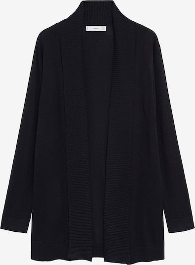 MANGO Gebreid vest 'Almaeco' in de kleur Zwart, Productweergave