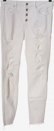 Abercrombie & Fitch Röhrenjeans in 29 in weiß, Produktansicht