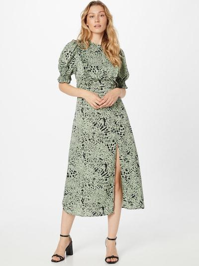 AX Paris Kleid in hellgrün / schwarz, Modelansicht