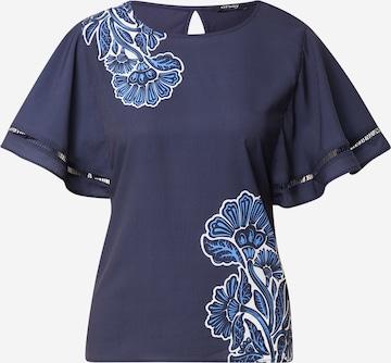 Orsay Bluse in Blau