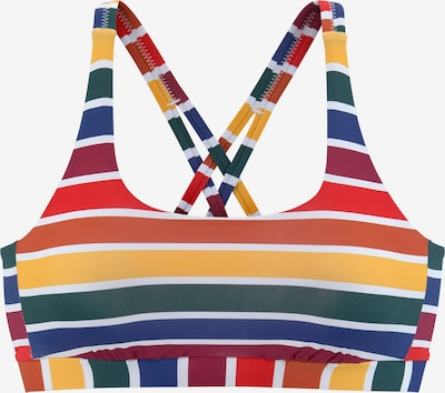 LASCANA Bikinitops 'Pride' in mischfarben, Produktansicht