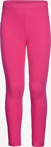 happy girls Leggings in Pink