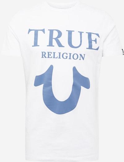 Tricou True Religion pe albastru deschis / offwhite, Vizualizare produs