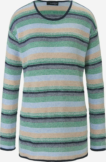 Looxent Pullover in marine / grün / mischfarben, Produktansicht