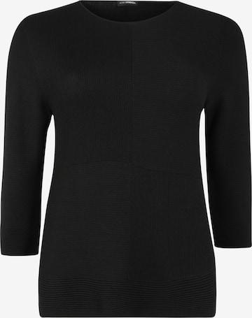 Doris Streich Pullover mit 3/4-Arm in Schwarz
