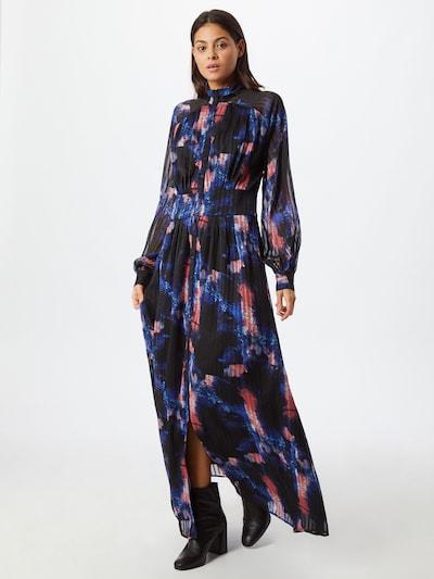 Y.A.S Košeľové šaty 'Aqua' - zmiešané farby / čierna, Model/-ka