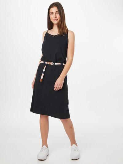 Rochie 'Tyuna' Ragwear pe negru, Vizualizare model