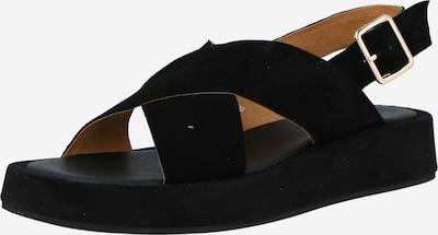 Sandale 'ASTRID' Shoe The Bear pe negru, Vizualizare produs